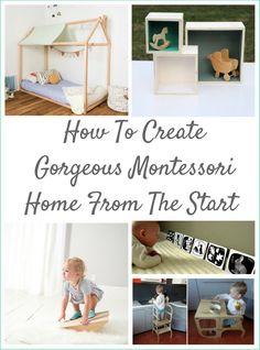 How To Create Gorgeous Montessori Home From The Start. Montessori Nature Blog. Montessori Materials And Home Set Up