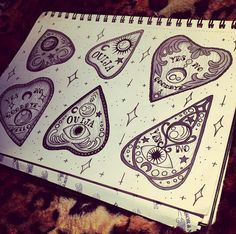 Image result for ouija planchette tattoo