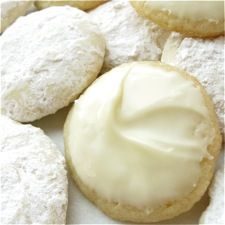 Crunchy-soft, assertively lime cookies coated in lime-scented powdered sugar, or frosted with white chocolate.