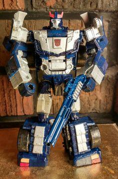 Custom Bluestreak Transformer.
