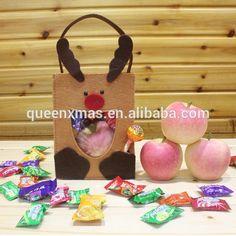 Nova Chegada Feitos À Mão Sentiu Sacos De Presente Natal Em Massa Bolsas Christmas Gift Bagshandmade