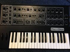 MATRIXSYNTH: Sequential Circuits Pro One Synthesizer SN 1405