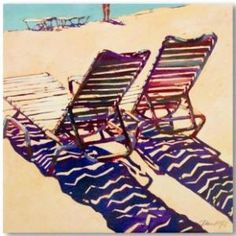 Phoenix Galleries Seating for Two Canvas - BH67040-C - All Wall Art - Wall Art & Coverings - Decor