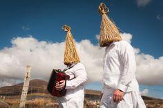 Irish strawboys in ireland