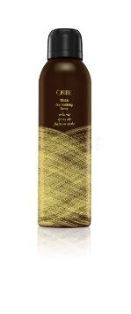 Oribe Thick Dry Finishing Spray. Real people reviews are minimal, but magazines say this thickening spray doubles your hair volume n
