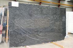 Virginia Mist Granite Grey Countertops, Granite, White Kitchen Cabinets, Stone Tiles, Home Kitchens, Mists, Kitchen Remodel, Kitchen Design, Layout