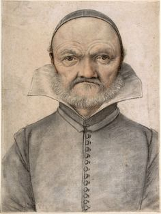 Portrait of a man. Anonymous, French, 16th century.