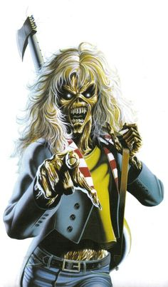 Eddie -Iron Maiden......