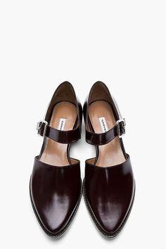 #Leather #Wedges sandals Beautiful Street High Heels