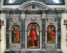 Cappella della Concezione il celebre Trittico della Madonna della Misericordia  Chiesa di Santa Maria Formosa aVenezia