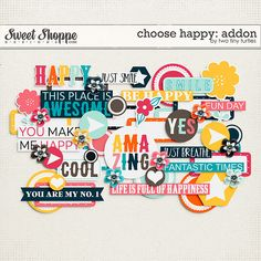 Choose Happy: Addon by Two Tiny Turtles Tiny Turtle, Turtles, Digital Scrapbooking, Memories, Kit, Make It Yourself, Cool Stuff, Sweet, Happy