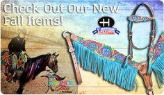Shop Bar H Equine www.bahequine.com #horsetack #fringe #gypsytails