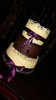 Chocolate Lace Wedding Cake Wedding Favours, Wedding Reception, Lace Wedding, Wedding Cakes, Chocolate Stout, Fondant Icing, Marzipan, Favors, Touch