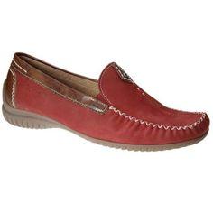 Gabor Red 'California' moccasins- at Debenhams.com £75