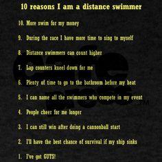 Love Swimming!