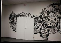 Cool Pictoplasma mural