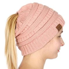 2a0377c6cfa47c Wholesale W65 C.C Solid classic beanie tail Indi Pink Lady Pirate, Pirate  Wench, Hat