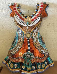 Mosaic dress by Lora