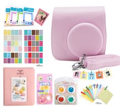 Find More Camera/Video Bags Information about Fujifilm Instax Mini 8 Accessories Camera Case Bag Colored Filters Photo Album Wall Hang Frames Selfie Lens Film Frames Stickers,High Quality sticker note,China stickers pig Suppliers, Cheap stickers snoopy from Photography store on Aliexpress.com