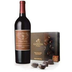 Napa Valley Cabernet & Dark Godiva Chocolate Gift - Wine Collection Gift