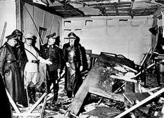 20 Jul 44: Operation VALKYRIE is launched in an attempt to assassinate Adolf Hitler and to overthrow the Nazi government. Lt Col Claus von Stauffenberg sets off the bomb at the Wolf's Lair field headquarters, but Hitler survives the blast and the plot fails. #WWII