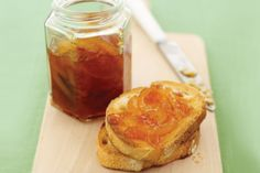 Make breakfast extra special with this home-made marmalade spread on toast.