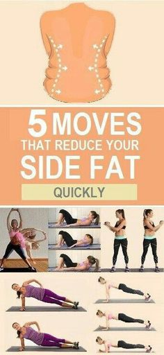 Getting rid of that unwanted side, Kelly fat can be hard. These are a few exercises that can help you. Do the work & build the body of your dreams.