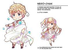 Nero is my favourite emperor in Hetalia World Stars! He's so cute!