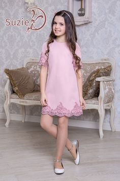 Cute Girl Dresses, Baby Dress Patterns, Cute Outfits For Kids, Classy Dress, Kids Wear, Clothing Patterns, Kids Fashion, Party Dress, Infant Girl Fashion