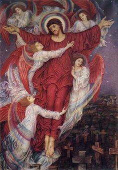 The Red Cross by Evelyn de Morgan