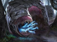 Soul Swallower - Shadows over Innistrad Art