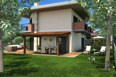 Progettazione villa singola Mansions, House Styles, Outdoor Decor, Studio, Home Decor, Mansion Houses, Homemade Home Decor, Manor Houses, Fancy Houses