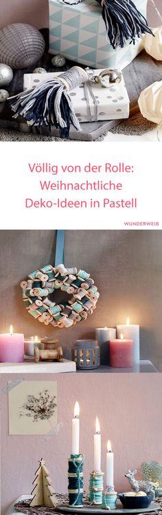 So hübsch: Diese weihnachtlichen Deko-Ideen in Pastell haben es uns wirklich angetan.