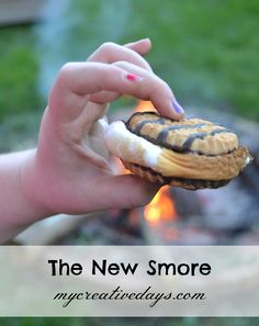 Looking for a fun way to celebrate Mothers Day this year? Skip Mothers Day brunch and host a Mothers Day campfire instead! Reminisce with mom and grandma and munch on this delicious Smore recipe! | MomsDay