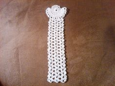 Heavenly Angel Bookmark pattern by Marlo D. Cairns ~ free pattern