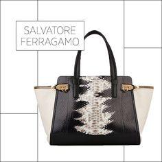 50 Showstopping Fall 2013 Bags: Salvatore Ferragamo tote, $4,100, ferragamo.com.