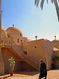 Bishoy's Coptic (Egyptian) Orthodox Monastery which is around 120 miles south of Cairo Christian Images, Orthodox Christianity, Great Pictures, Ancient Egypt, Egyptian, Catholic, Cairo, Around The Worlds, Mark Alexander