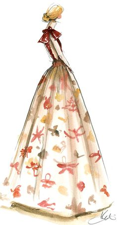 Valentino Fall Couture 2013 | Paperfashion