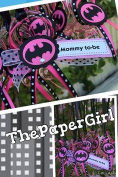12 Batgirl Bat Girl Baby Shower Pacifier by ThePaperGirlbyANM