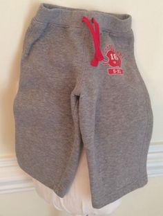Circo Baby Boys 18 Months sweat Athletic Pants Fleece Backed Knit Winter Clothes | eBay