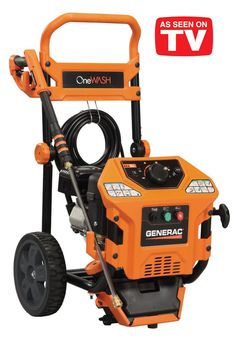 Generac psi OneWash Variable Speed Gas Pressure Washer 6602 at The Home Depot - Mobile Washing Machine Reviews, Small Washing Machine, Green Cleaning, Car Cleaning, Cleaning Products, Best Pressure Washer, Pressure Washers, Black Friday Tools, Washer Machine