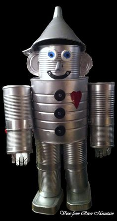 View from River Mountain: Tin Man Yard Ornament