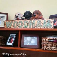 DIY Vintage Chic: DIY Wooden Engraved Sign