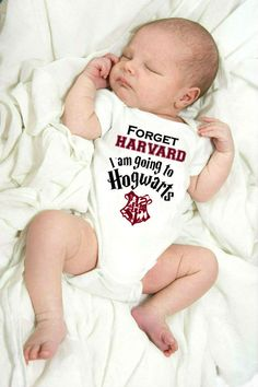 Funny Harry Potter Inspired Baby Onesie This onesie will get lots of laughs:) pure soft cotton is gentle on your babys skin. Baby Harry Potter, Harry Potter Baby Shower, Harry Potter Nursery, Harry Potter Baby Clothes, Cool Baby, Baby Kind, Baby Shower Gifts, Baby Gifts, Baby Bodysuit