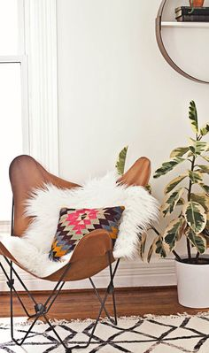 Butterfly chairs I've been stalking from Urban Outfitters...