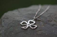 Buy Large shamrock pendant on your Irish Jewelry eshop Irish Jewelry, Celtic, Pendant, Silver, Handmade, Stuff To Buy, Hand Made, Hang Tags, Pendants