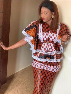 Long African Dresses, Latest African Fashion Dresses, African Print Fashion, African Dress Patterns, African Print Dress Designs, Africa Dress, Ankara Dress Styles, African Clothing For Men, African Attire