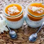 Likör+43+Mohn+Joghurt+mit+Marillen-Honig+Spiegel+und+gerösteten+Mandeln
