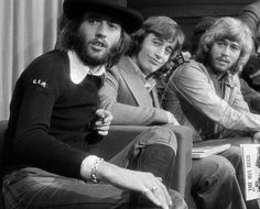 Musical geniuses, and it appears Maurice works for the CIA also… Bee Gees