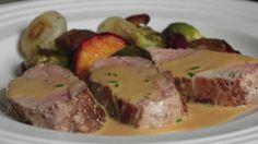 Pork Tenderloin Diablo Recipe - Spicy Pork Diablo - Pork Tenderloin with...